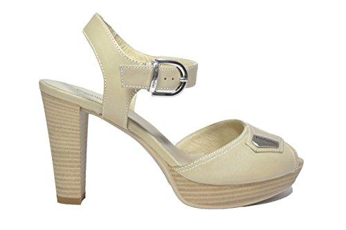 Sandales pour Marron femme Giardini Nero Brown q4wfZE