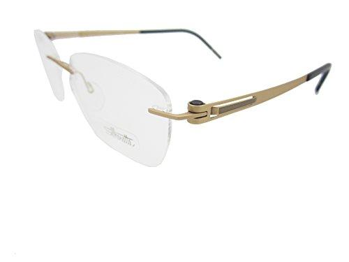 Silhouette LITE Twist 4412/20 Eyeglasses 6064 Honey Gold/...