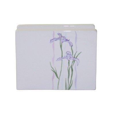 Coordinates Shadow Iris Napkin Holder (Iris Frogs)