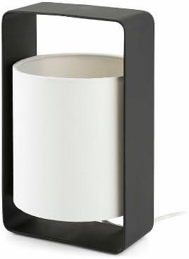 Imagen deFaro Barcelona 28382 - LULA Sobremesas y lámparas de pie, 20W, acero y pantalla téxtil           [Clase de eficiencia energética B]
