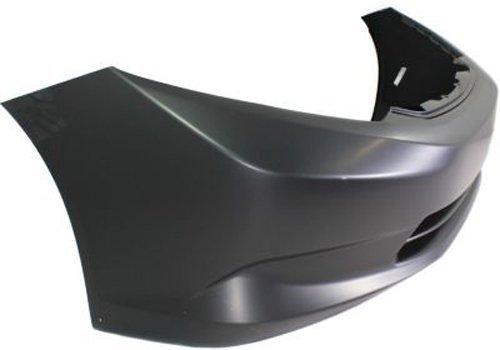 Crash Parts Plus Primed Front Bumper Cover Replacement for 2012 Honda Civic Sedan