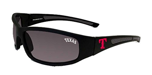 Maxx Sunglasses Stretch MLB Texas Rangers Black HD Grey - Texas Rangers Sunglass