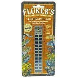 Fluker's Gauge Thermometer Flat