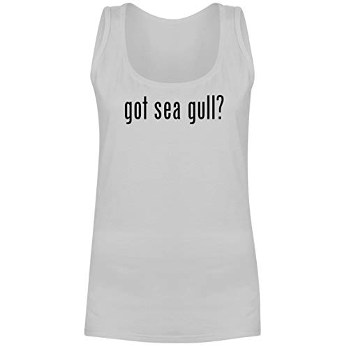 The Town Butler got sea Gull? - A Soft & Comfortable Women's Tank Top, White, X-Large