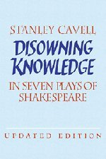 Disowning Knowledge: In Seven Plays of Shakespeare by Brand: Cambridge University Press