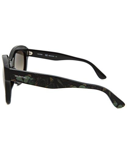 Valentino Women's Sunglasses, Camo Butterfly Army Green, 56-18-140