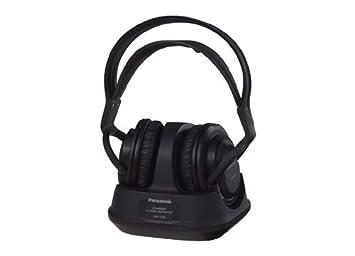 Panasonic RPF820E - Auriculares de diadema cerrados inalámbricos, negro