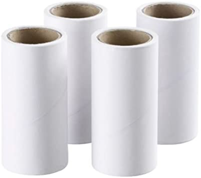 IKEA Bastis Replacement Rolls For Lint Roller 4 Pieces
