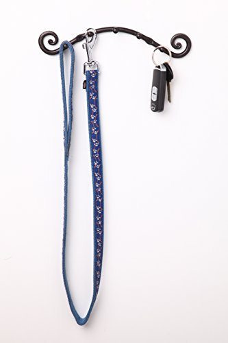 5 Hook Key Holder | Wall Mounted Hanger | Wrought Iron Key Rack Handmade by RTZEN-Décor by RTZEN (Image #2)
