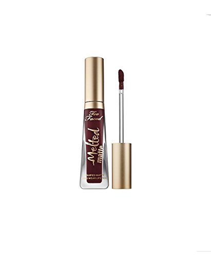 Too Faced Melted Matte Liquified Matte Liquid Lipstick ~ Travel Size 0.1 fl oz ~ Drop Dead Red