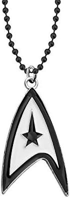 WSNANG Star Trek Earrings Star Trek Jewelry Gift for Trekkie Movie Inspired Jewelry Gift for Star Trek Fans