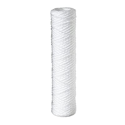 """Baleen Filters 20"""" x 4.5"""" 5 Micron String Wound Sediment Filter Cartridge Replaces Hydronix SWC-45-2005, Watts SF5-20-425, Pentek WPX5BB20P"""