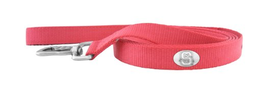 ZEP-PRO Red Nylon Concho Pet Lead, North Carolina State Wolfpack, 6-Feet