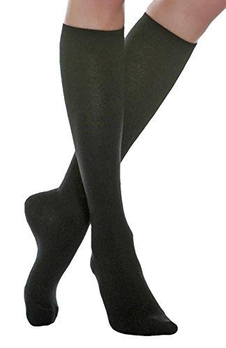 Maxar rejuvenating compression support socks, unisex, 2x-large, dark grey