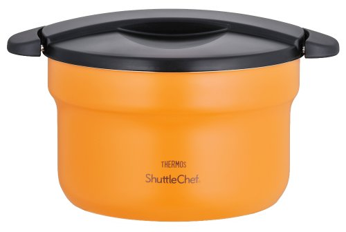 THERMOS vacuum insulation cooker shuttle chef 2.8L apricot KBF-3000 by Thermos