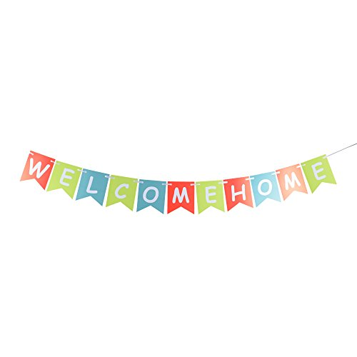 - Welcome Home Banner Bunting Home Party Decorations Banner Risehy