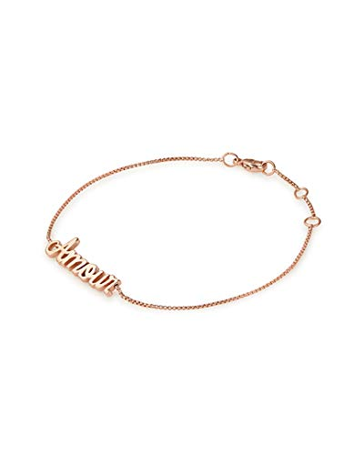 Alex and Ani Women's Amour Adjustable Bracelet 14kt Rose Gold Plated One Size