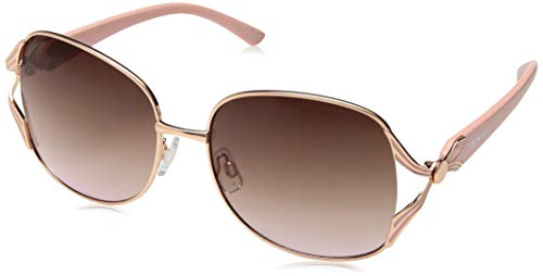 Rose Gold Lens Sunglasses - Steve Madden Women's Sm495123 Round Sunglasses,