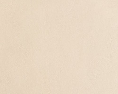 Discount Fabric Faux Leather Upholstery Pleather Vinyl Ivory PL08 ()