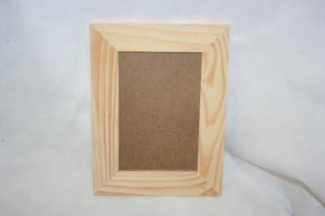Portafoto legno grezzo 10x15 cm: amazon.it: giochi e giocattoli