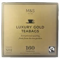 7399a30cf5 UK Marks   Spencer Luxury Gold Tea 160 Tea Bag MARKS   SPENCER LUXURY GOLD  TEA