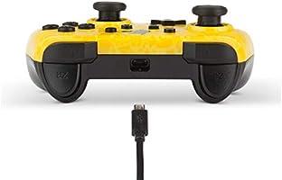 Mando con cable PowerA Pokémon para Nintendo Switch. Silueta de ...