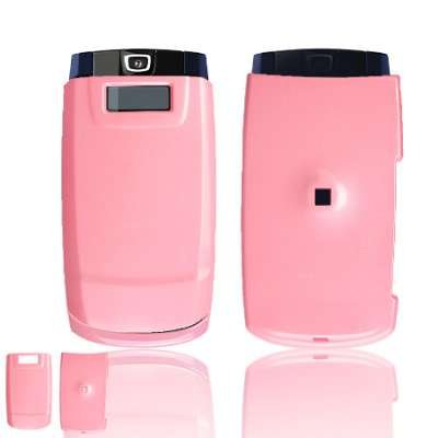 SOLID PINK SNAP-ON COVER HARD CASE PROTECTOR for SAMSUNG A513 FIN ()