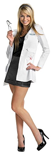 UHC Gwen Stacy Oscorp Intern Deluxe Outfit The Amazing Spider-Man Costume, L -