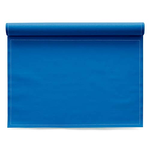 MY DRAP Placemats, Cotton (12, Royal Blue)