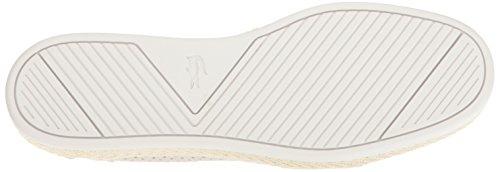 Lacoste Mænds Tombre Slip-on Afslappet Sko Mode Sneaker Off Hvid SM1sH