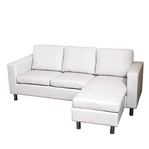Itamoby, Sofá cómodo con Chaise Longue, sintética Color ...