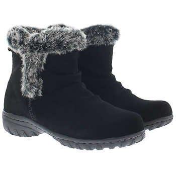Khombu Ladies' Lisa All Weather Boot Black (8)