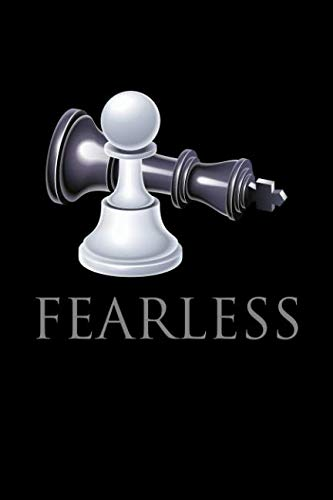 Fearless: Blank Paper Sketch Book - Artist Sketch Pad Journal for Sketching, Doodling, Drawing, Painting or - Painting Checkmate