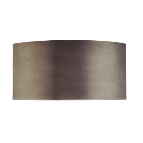 Sonneman 1880.24, Dianelli Wall Sconce Lighting, 2 Light, 40 Total Watts, Rubbed Bronze (Sonneman Sconce Silver)