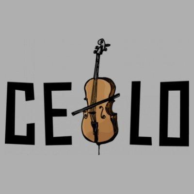 Sudadera con capucha de mujer Cello Logo by Shirtcity Gris granulado
