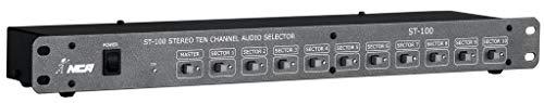 Setorizador de áudio 10 setores estéreo ST100