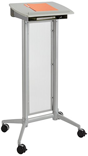 Stand Lectern Speaker (Safco Products 8912GR Impromptu Lectern, Gray)