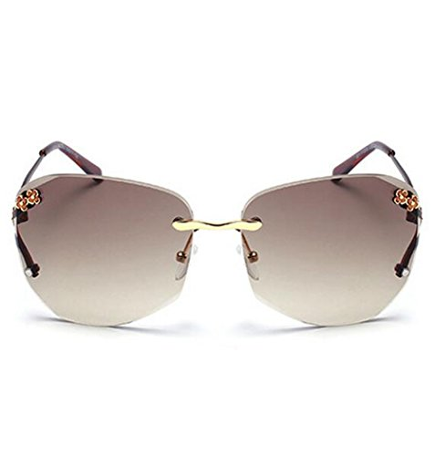 My.Monkey Womens Fashion Polarized Gradient Lens Small Frame Warfarer - Shape How Face Sunglasses To Choose