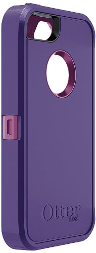 OtterBox Defender Series Case for iPhone 5 (Discontinued by Manufacturer)( Not for iPhone 5C) Retail Packaging Boom Purple