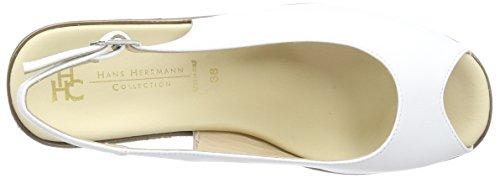 Bianco Hans Sabots Blanc 21 Herrmann Collection HHC Hans Herrmann Femme RB8qTR
