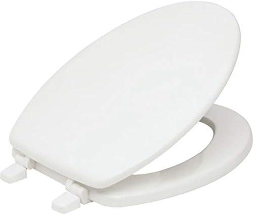 Kohler K-7315-47 Cachet Quick-Relase Grip-Tight Elongated Toilet Seat Almond ...