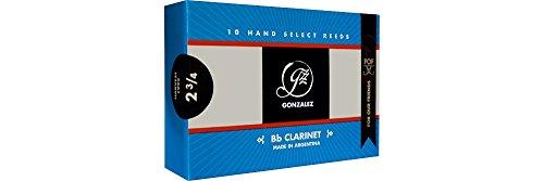 Gonzalez F.O.F Bb Clarinet Reeds Strength 3 by GONZALEZ