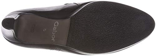 Femme Basic Schwarz Shoes 27 Botines Noir Gabor tgq5xwf