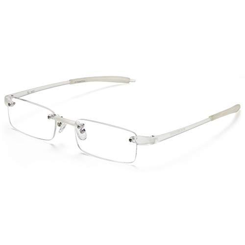 Rimless Reading Glasses Men