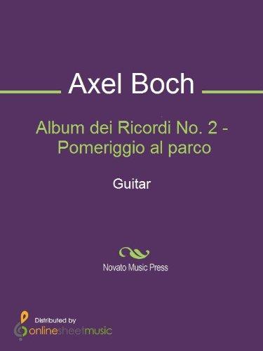 Album dei Ricordi No. 2 - Pomeriggio al parco - Guitar