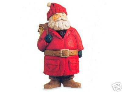 Kris Kringle Christmas - Hallmark Keepsake Ornament - Kris Kringle Dated 2003 (PR2917)