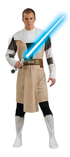 Rubie's Men's Star Wars Clone Adult Obi-Wan Kenobi, Multicolor, Standard -