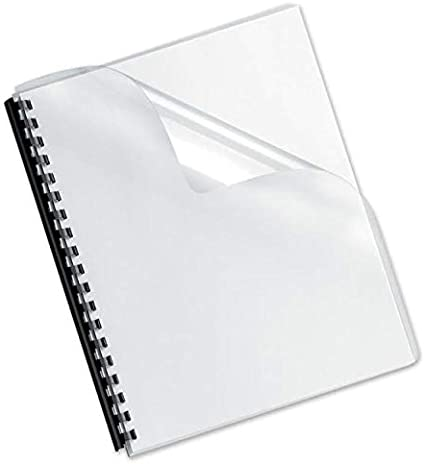 Cubiertas de plástico para encuadernación – A3-140 a 450 micras 450 micron - Frosted Polypropylene / 100 Pack: Amazon.es: Oficina y papelería