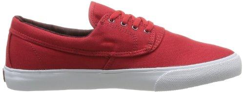 Lakai Camby - Zapatillas de Deporte de tela hombre Rojo - Rouge (Red Canvas)