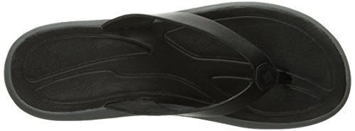 Leather Columbia Shark Sandal Athletic Women's Flip Caprizee Black qwRwZU8pn